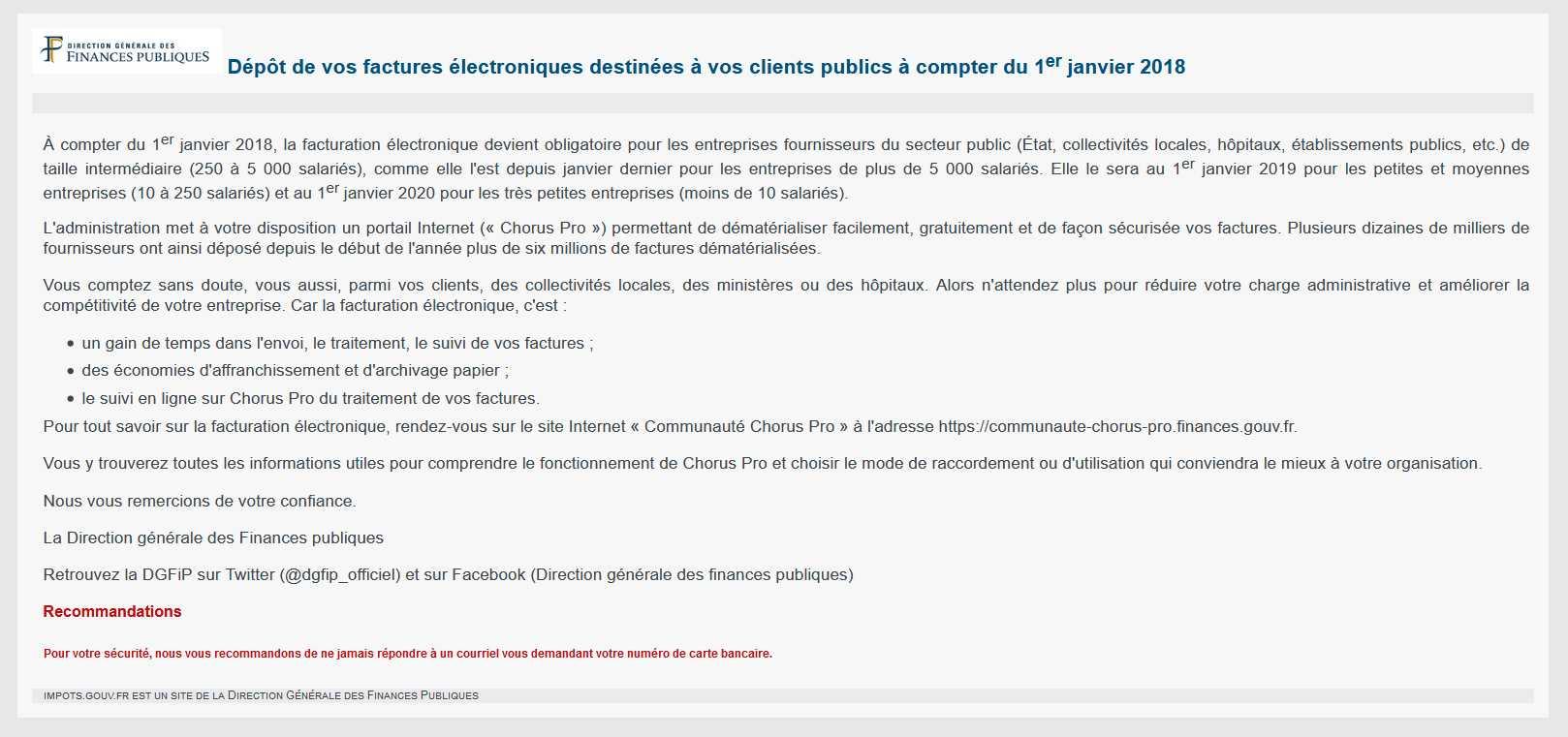 Communaute Chorus Pro Etape 2 Kanada Versicherung