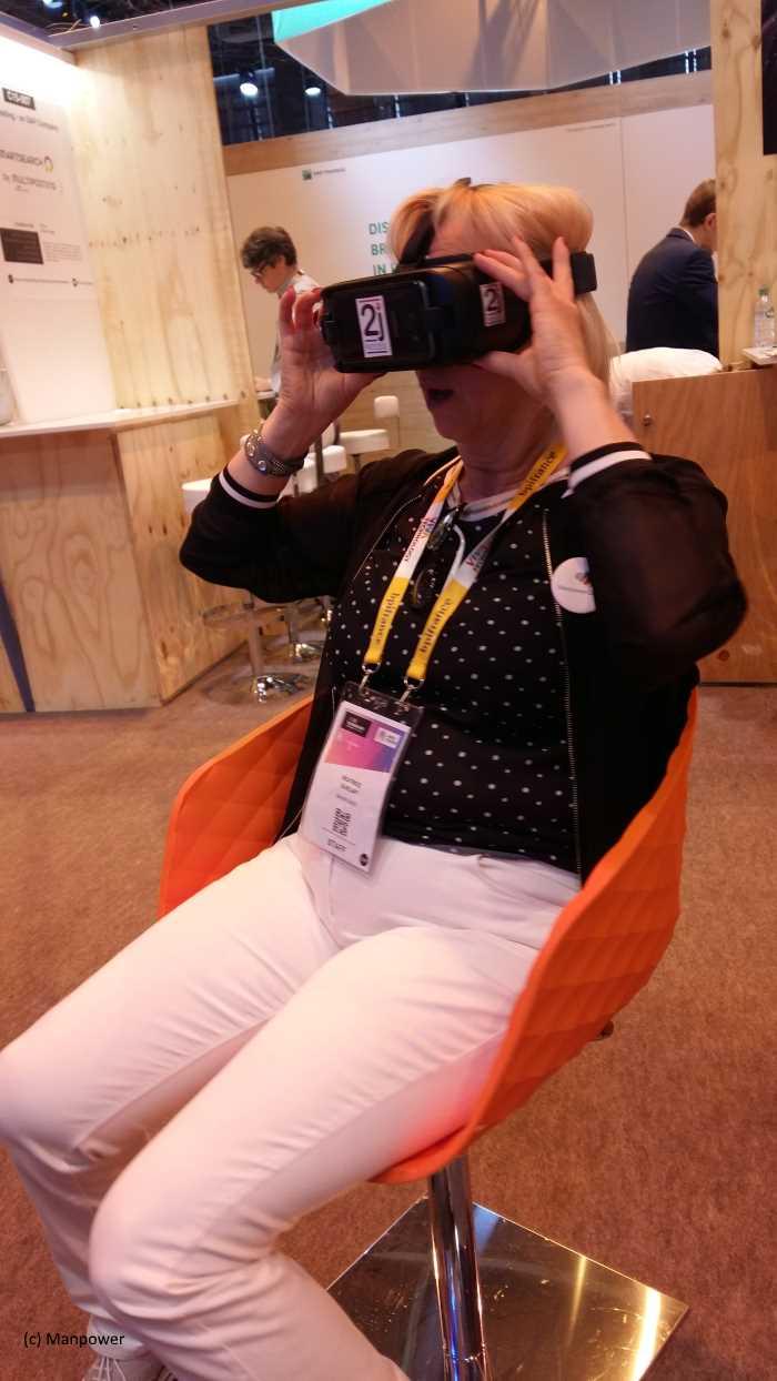 Manpower réalité virtuelle