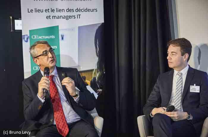 Philippe Loudenot (Fonctionnaire de Sécurité des Systèmes d'Information, Ministères Sociaux) et Stéphane Nappo (Global Chief Information Security Officer
